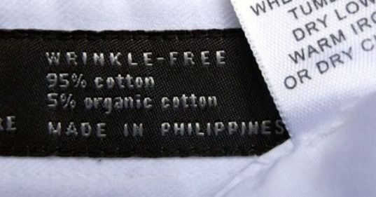 wrinkle free organic