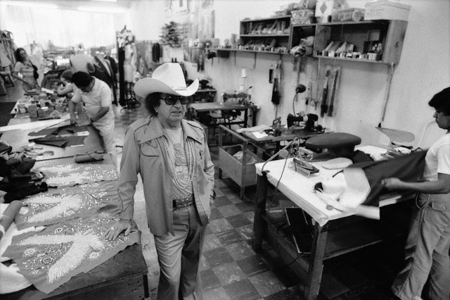 Nudie the Rodeo Tailor in his Shop