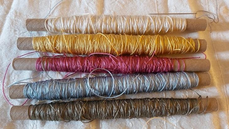 7 silk thread